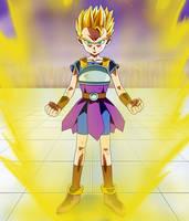 Kyabe Super Saiyan by Dark-Crawler