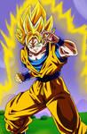 Poster #3: Son Goku Super Saiyan