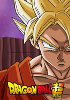 DBS: Son Goku Super Saiyan by Dark-Crawler