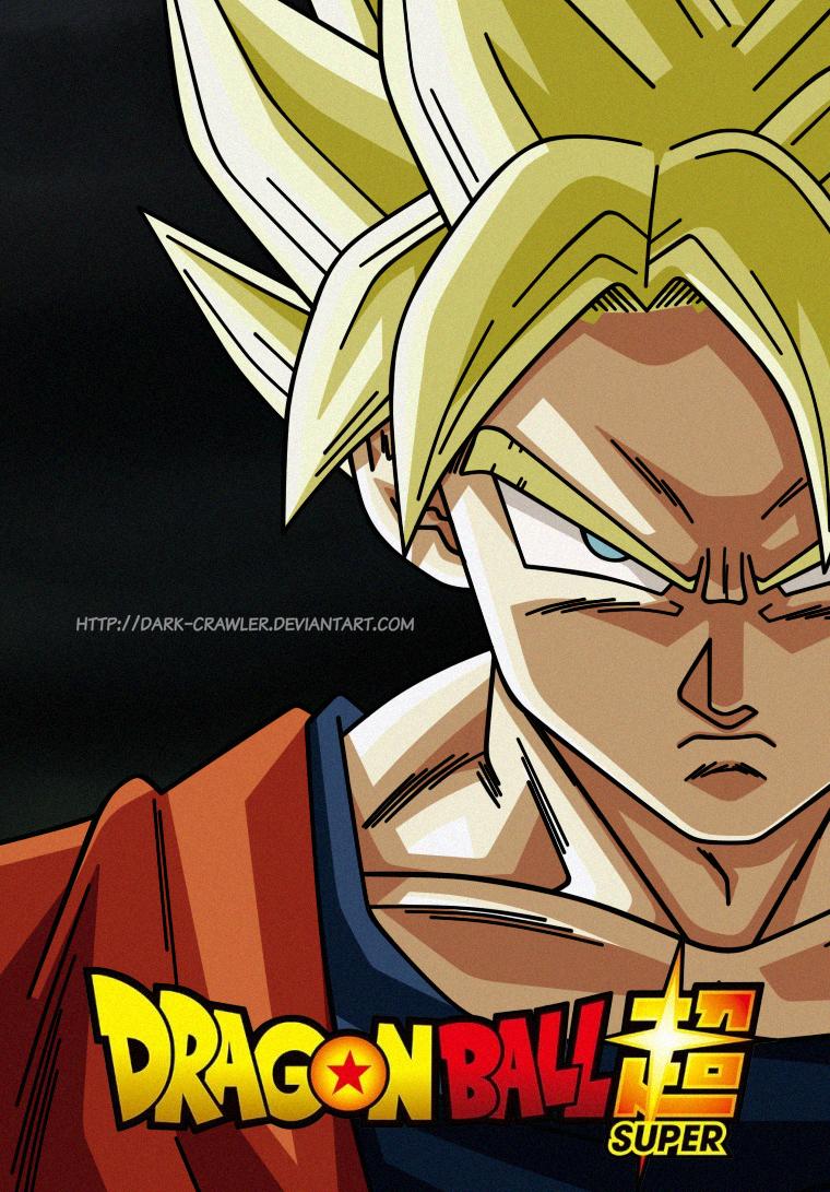 dbs son goku super saiyan by darkcrawler on deviantart