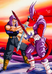 Commish #23: Future Trunks Vs Janemba