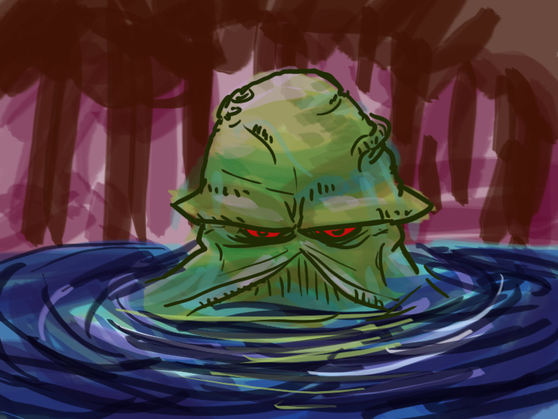 Dsc Swampthing by LeSam