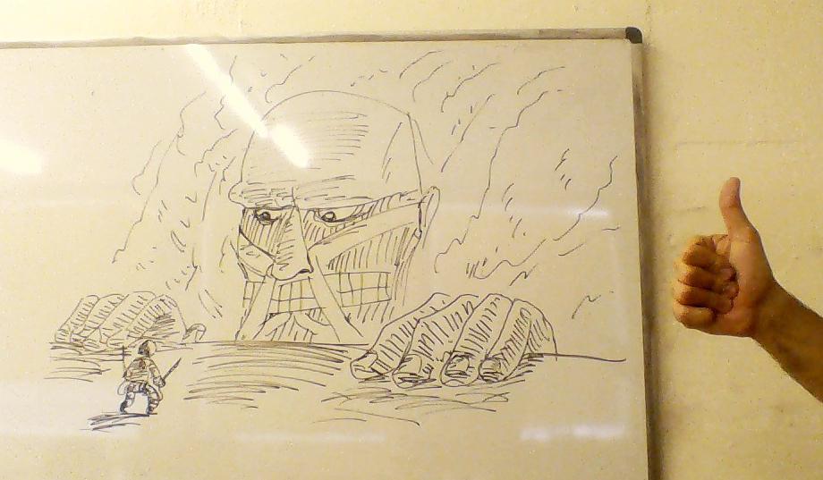 Whiteboard Titan by LeSam
