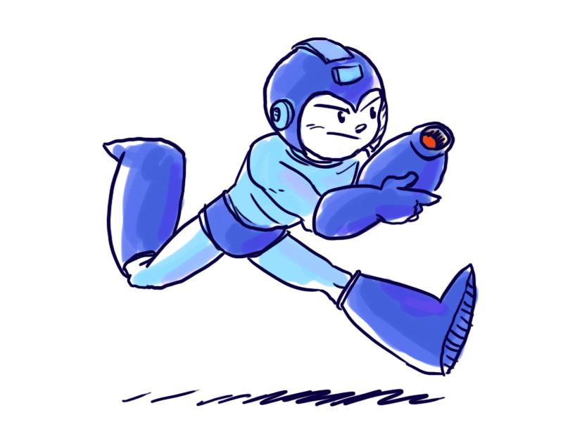 Dsc Megaman by LeSam