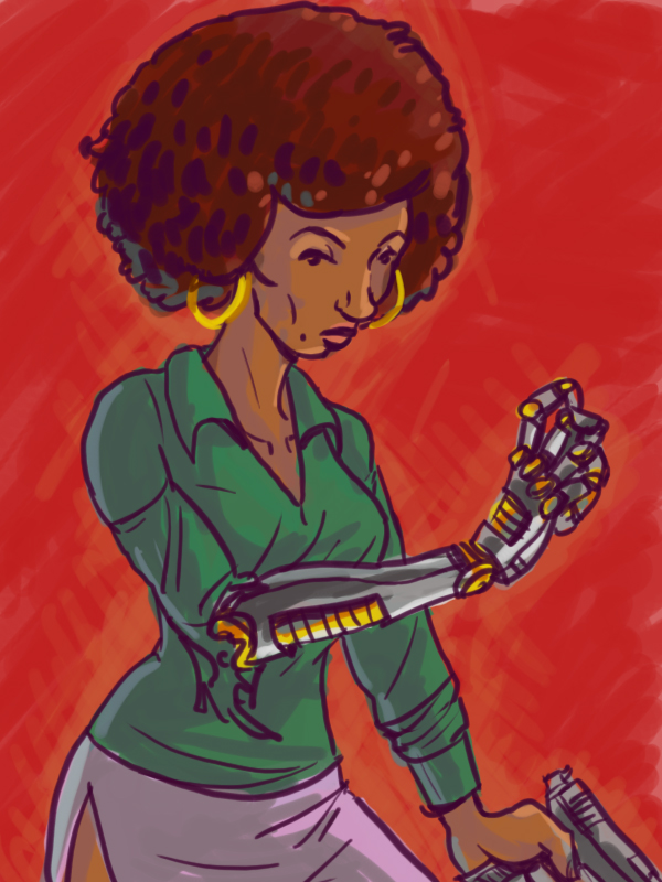 Dsc Misty Knight by LeSam