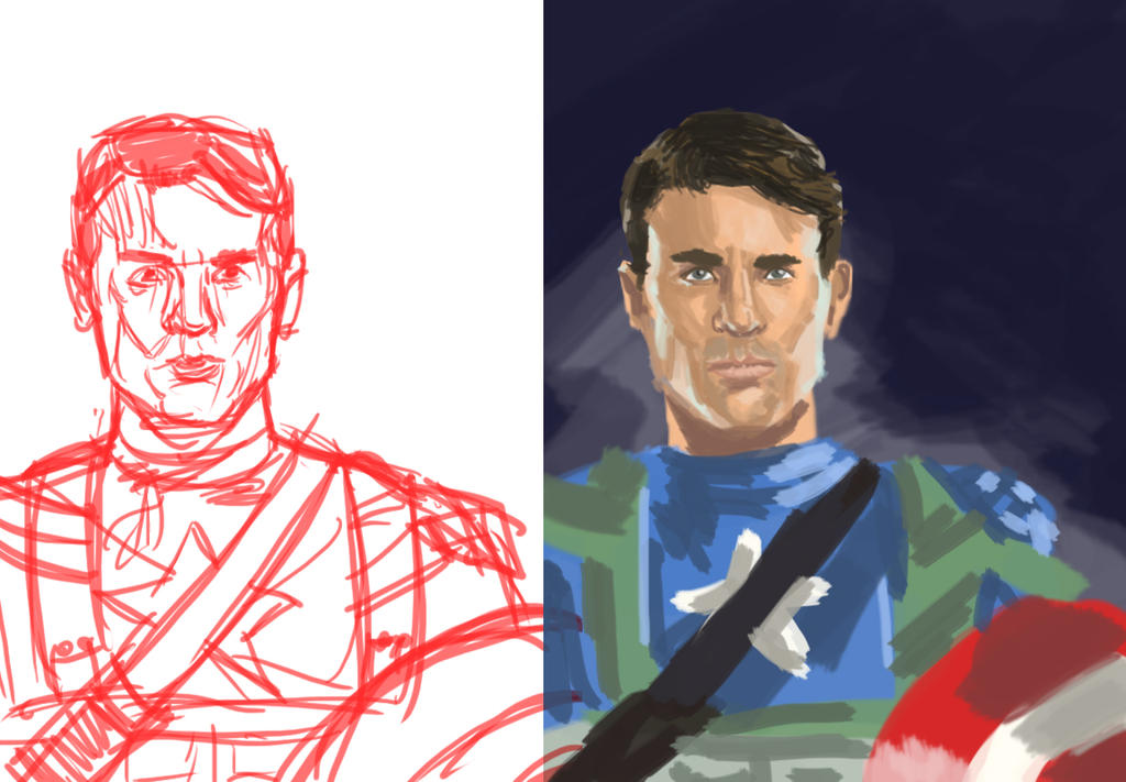 Dsc Chris Evans by LeSam