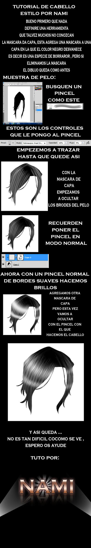 tutorial de cabello by miguelnamikaze005
