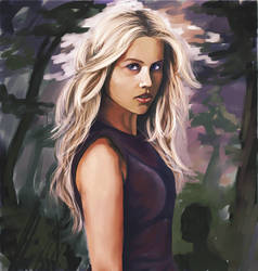 The Vampire Diaries- Rebecca by miguelnamikaze005