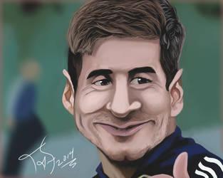 Lionel Messi by miguelnamikaze005
