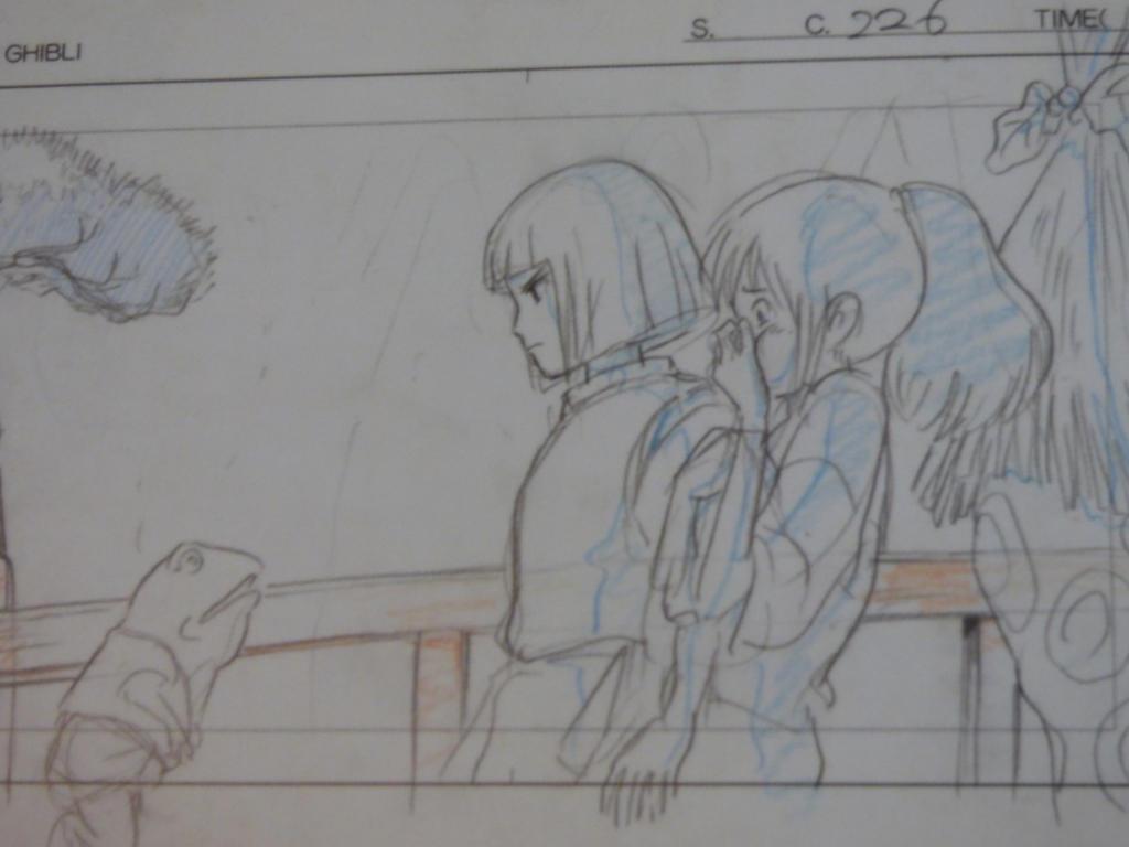 Layout Chihiro and Haku by YumeNox