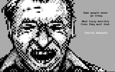 Charles Bukowski Portrait by enzo