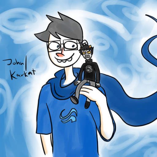Karkat John Livejournal John Tiny Karkat by Goobla