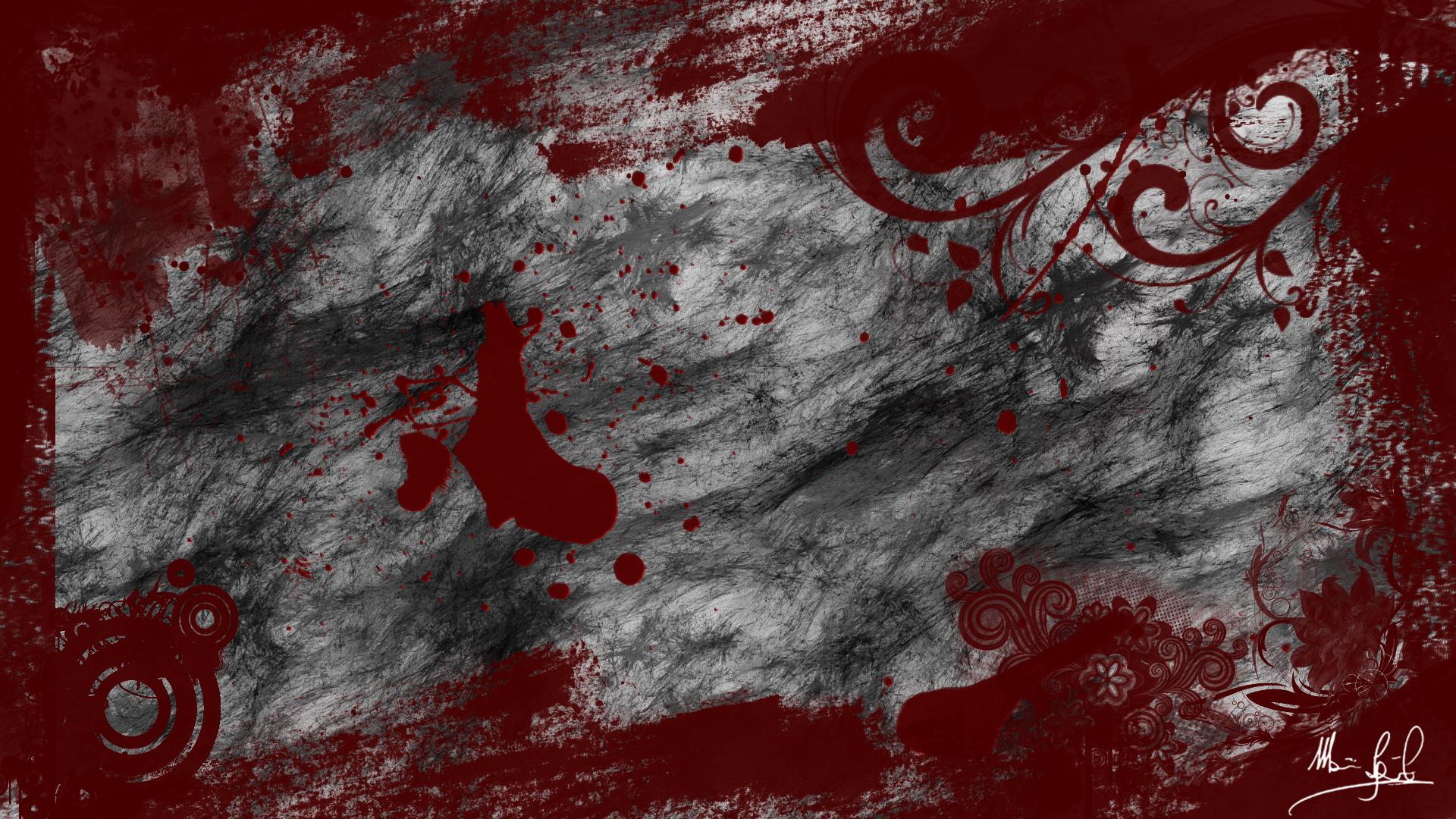Blood Wallpaper By TheArtOfDarkness On DeviantArt