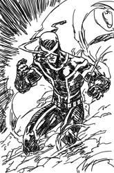 Death of X coverart sketch