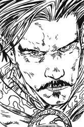 Dr Strange closeup
