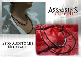 Cosplay: Ezio's Necklace by NocturnaDraco