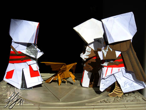 Assassin's Creed Origami n.2b