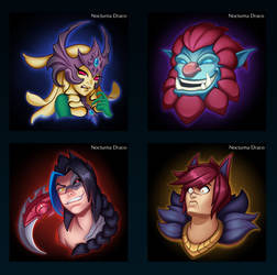 Memotion - League of Legends Fanart Project