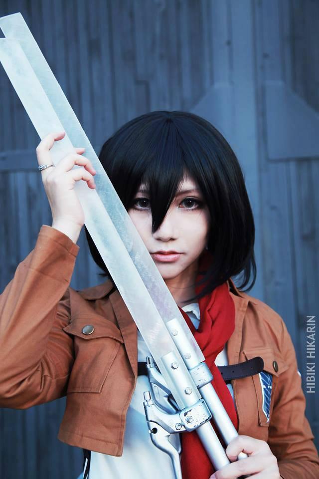 Mikasa Ackerman : Soldier by Hibiki-Hikarin