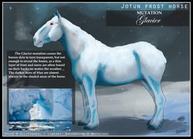 Jotun Frost Horse Mutation - Glacier