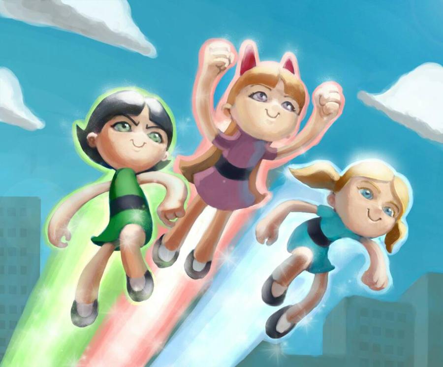Powerpuff Girls by ploteixa by ploteixa
