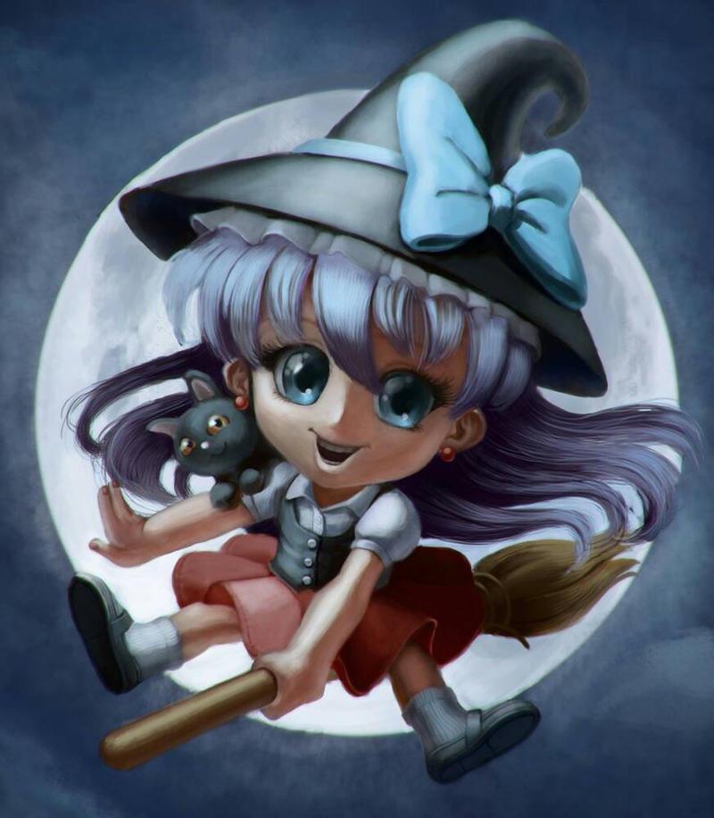 Little Witch by Ploteixa by ploteixa