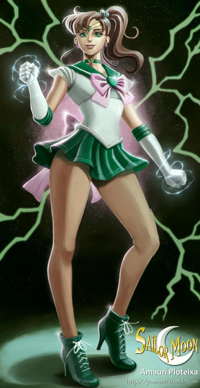 Sailor Jupiter fanart by ploteixa