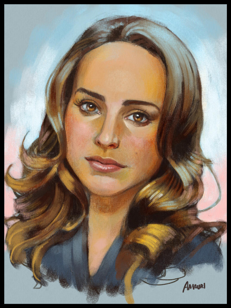 Natalie Portman portrait by ploteixa