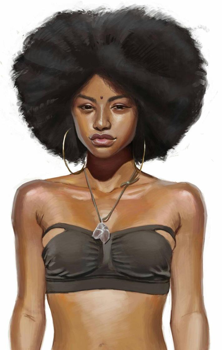 Black is Beautiful by ploteixa