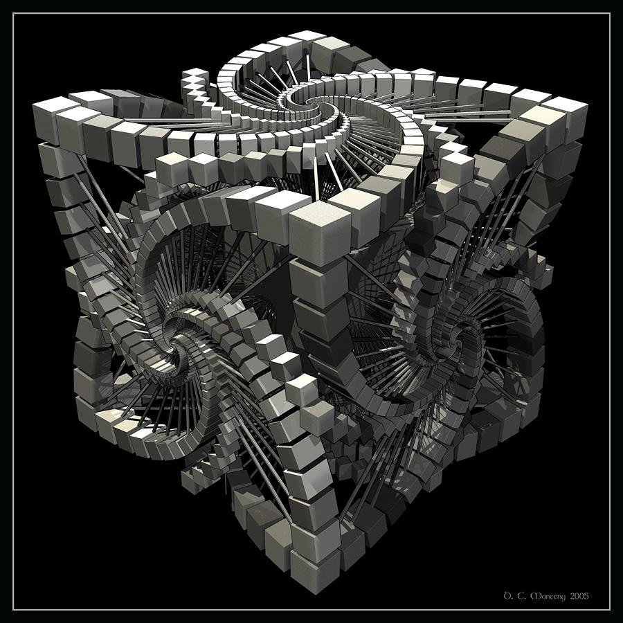 Cubik Olympic by DigitalPainters 100 imágenes fractales | La belleza matemática