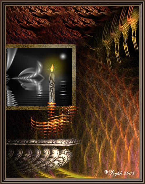 Candlelight Sonata by DigitalPainters