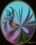 Hummingbirds by DigitalPainters