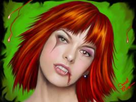 Milla is vampite now by pivarts