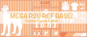 MEGA P2U REF BASE | Canine/Equine Edition