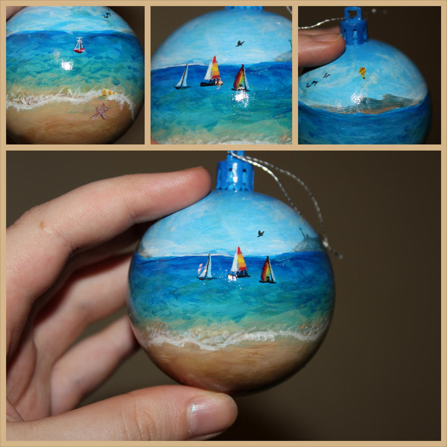 Seaside bauble by African-Amber