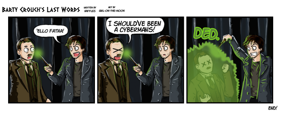 Barty Crouch's Last Words by Girl-on-the-Moon