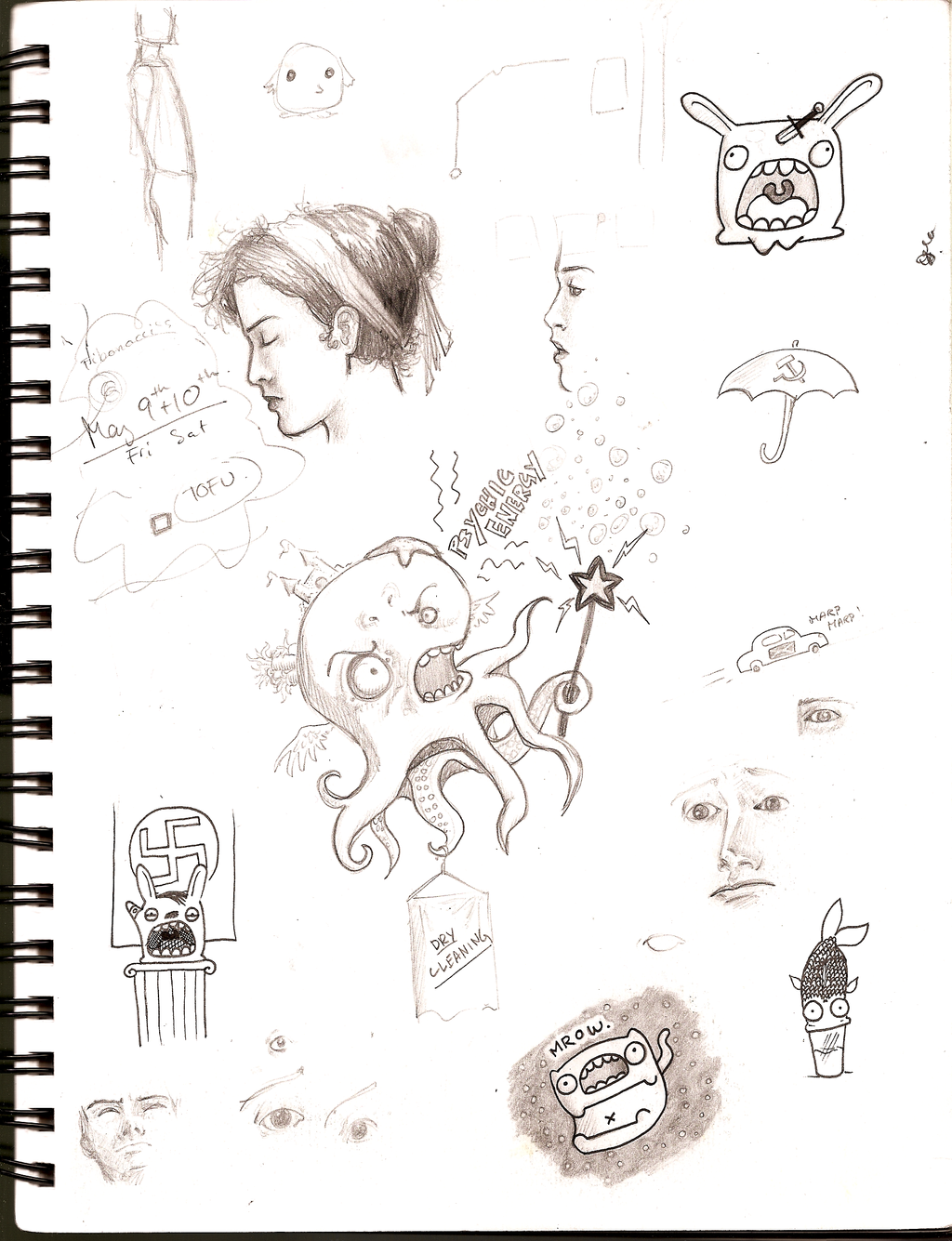 Sketchbook 3 by Girl-on-the-Moon