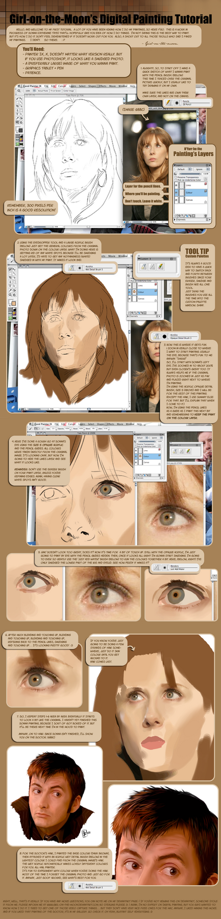 Painting Tutorial by Girl-on-the-Moon