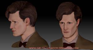 zBrush Matt Smith Sculpt