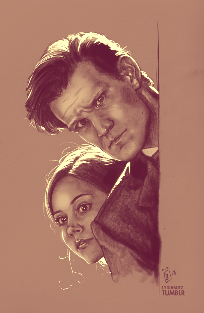 Mysterious People - Doctor Who by Girl-on-the-Moon