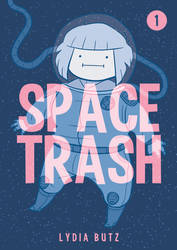 Space Trash #1 Cover by Girl-on-the-Moon