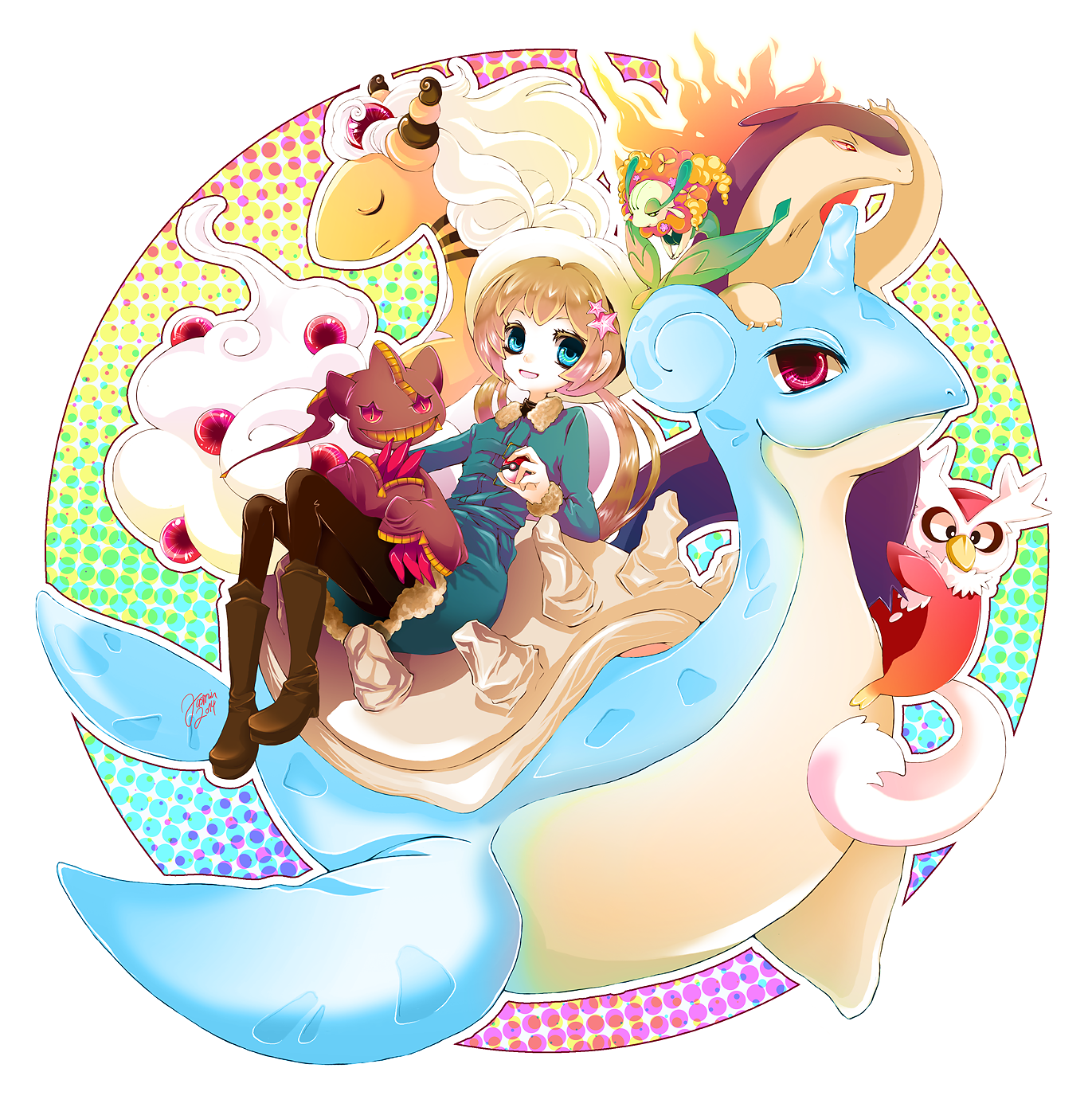 Pokemon X/Y by jaslikeschocolate