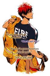Pick-up Line: Kagami Taiga