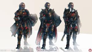 BLACK ARBORETUM: Paladin Tyrell Costume Variations