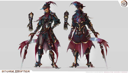 Dragon Rider Wren (Character Concept)