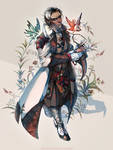 Cleric - Doctor of Fae (Talmhach MacCullach) by Madomon