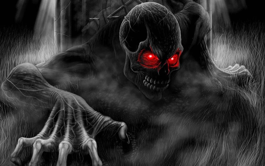 skull hd wallpaper horror wallpapers by for iphone 4