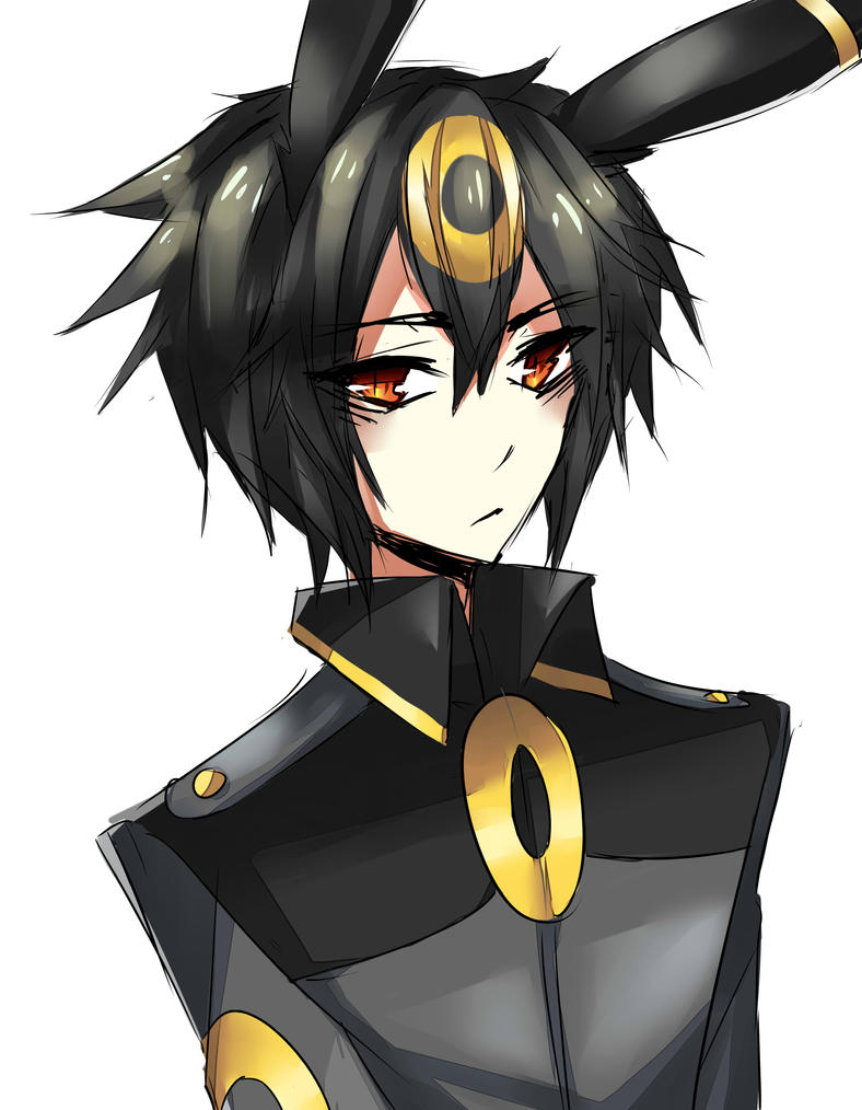 Human Male Umbreon Pok...