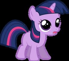 Filly Twilight Sparkle - Re-Upload by Silentmatten