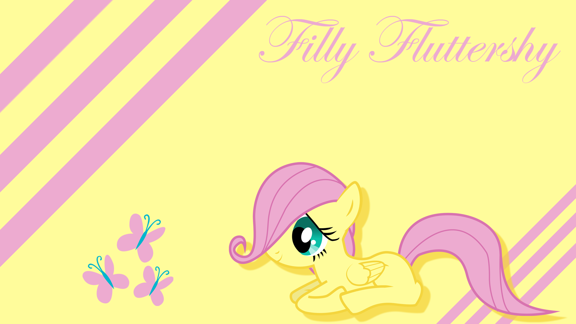 Fluttershy wallpaper - 824131